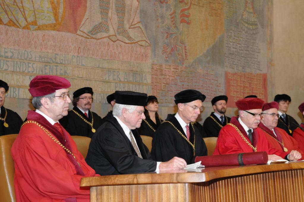 2014, Prof. Orley Ashenfelter oceněn čestným doktorátem Univerzity Karlovy