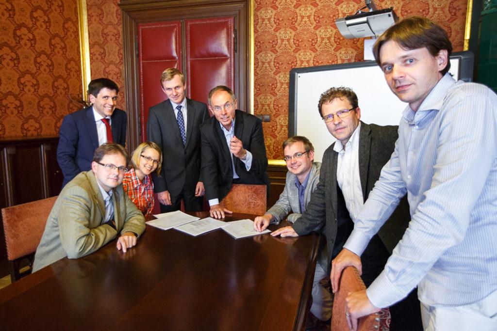 Schůzka týmu IDEA