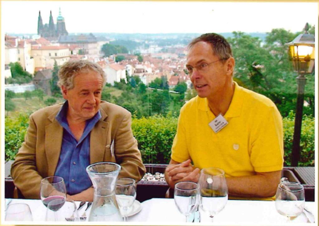 S přítelem Michalem Krausem