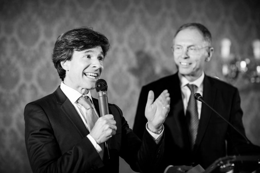 květen 2016, oslavy 25. výročí založení CERGE-EI, Andrew H. Schapiro, Jan Švejnar
