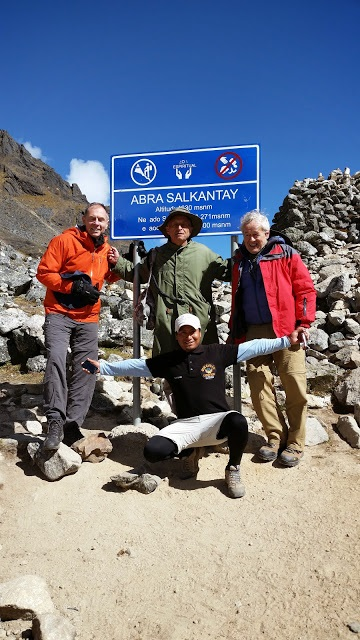 Salkantay trek k Machu Picchu, Peru