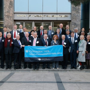 2016, Jan Švejnar na konferenci v Pekingu, Čína