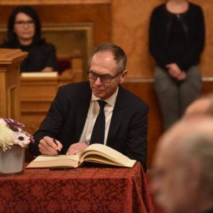Jan Švejnar získal na Univerzitě v Lublani ocenění Honorary Senator
