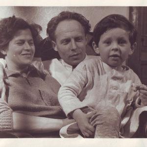 S rodiči na Smíchově, Praha
